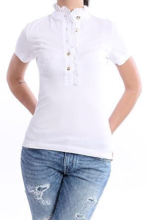 Tory Burch Polo Blanco, Mujer, Talla L.: Amazon.es: Ropa y accesorios