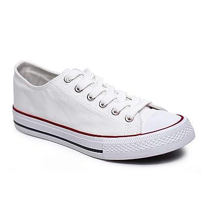 Amazon.com | Carolyn Jones Women Fashion Vulcanize Shoes Summer Casual White Couple Sneakers Zapatillas Mujer | Shoes