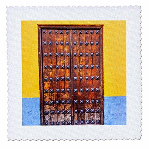 3dRose Danita Delimont - Architecture - Carrera Del Darro, Albaicin, Granada, Andalusia, Spain - 22x22 inch quilt square (qs_257896_9) by 3dRose