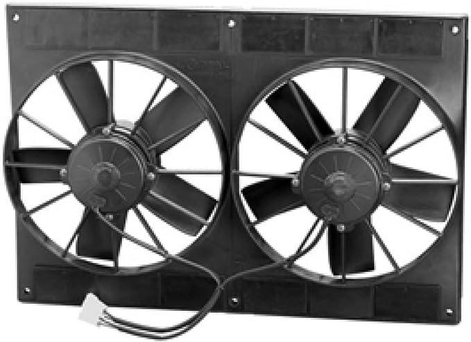 SPAL 30102052 extractor ventilador (11in Dual Alto Rendimiento ...