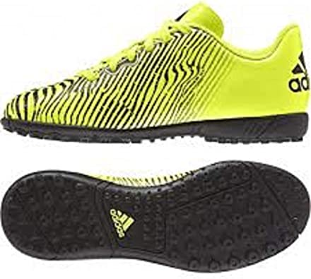 adidas Taquiero Astroturf - Zapatillas de fútbol para niños y niñas, color Amarillo, talla 37 1/3 EU: Amazon.es: Zapatos y complementos