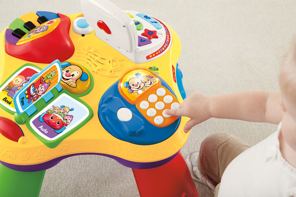 Toy Review: Fisher-Price Laugh & Learn Fun with Friends ...