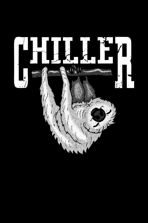 Chiller: cuaderno Gracioso perezoso pereza enfriar ...