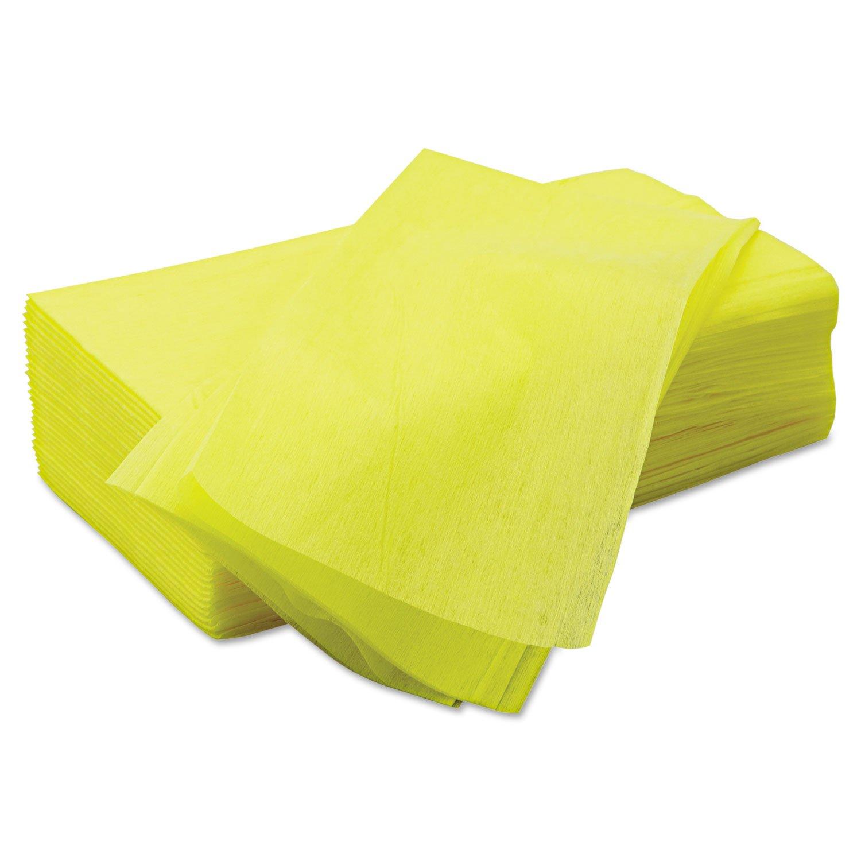Chix Masslinn Dust Cloths, 22 x 24, Yellow, 150/Carton