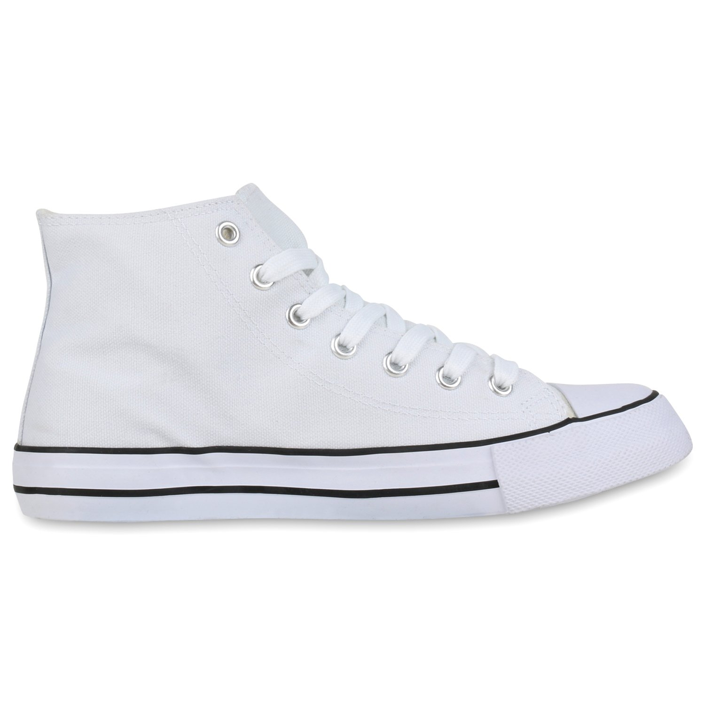 schuhe Sneaker VITA Unisex Damen Herren Sneaker schuhe High Übergrößen Weißs Basic 94e204