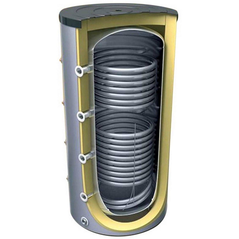 Pufferspeicher 400 500 800 1000 1500 2000 Liter mit 2 Wä rmetauscher fü r Heizungssysteme ES