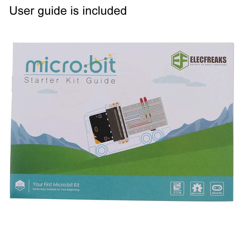 SG-90/Mini Servo om te leren en Programmeren van makerhawk Micro: bits proefbord Adapter Micro: bits Starter Kit zonder entwicklungsboard incl Transparant proefbord