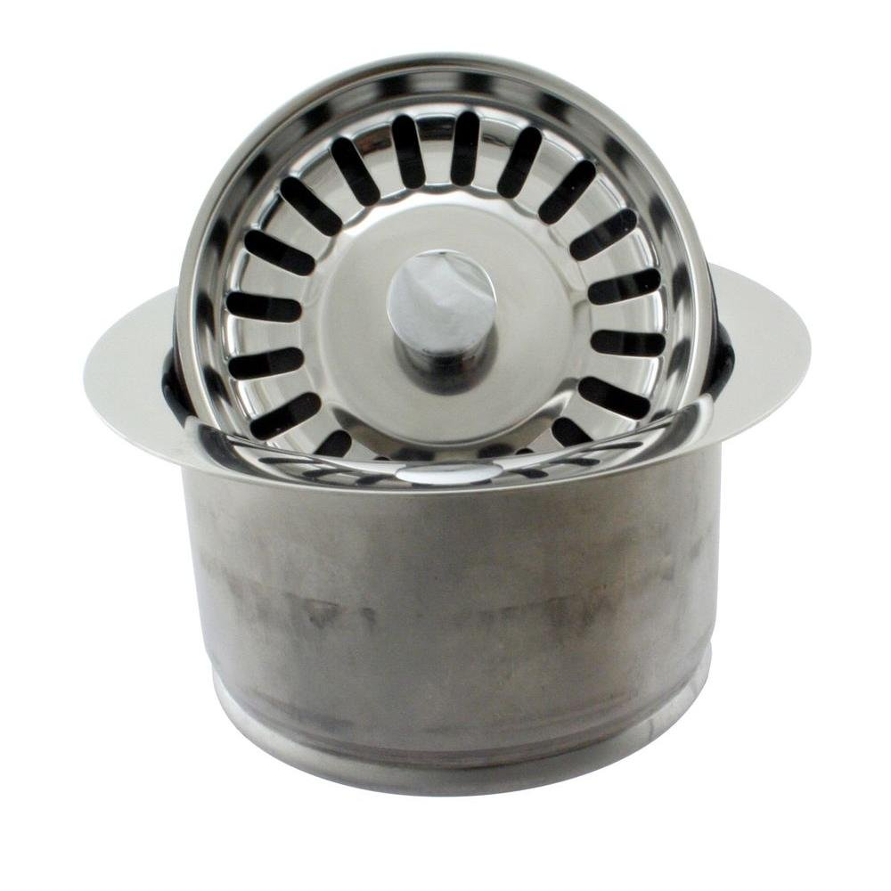 Westbrass D2082S 12 Extra Deep In Sink Erator Disposal Flange And Strainer,  Oil Rubbed Bronze     Amazon.com
