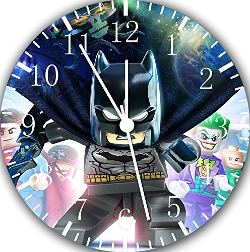 Lego Batman Movie Frameless Borderless Wall Clock E35 Nice For Gift or Room Wall Decor