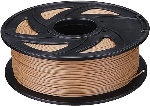 YRW ONDER 3D Impreso filamento, 1,75 mm 0,5 kg / 1 kg de Madera de ...
