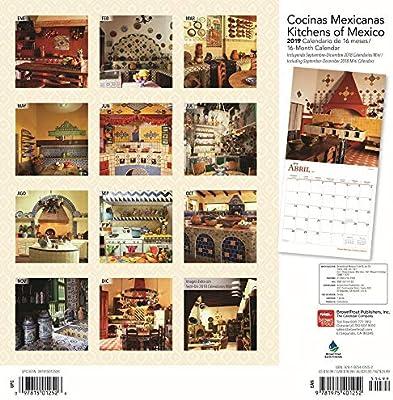 Cocinas Mexicanas// Kitchens of Mexico 2019 Calendar