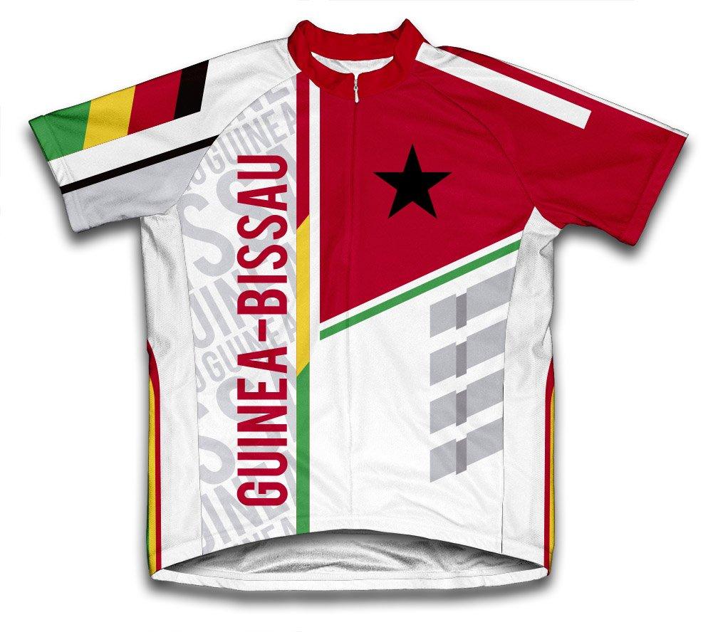 ScudoPro Guinea-Bissau Radsport Trikot mit kurzer Ärmel für Menner