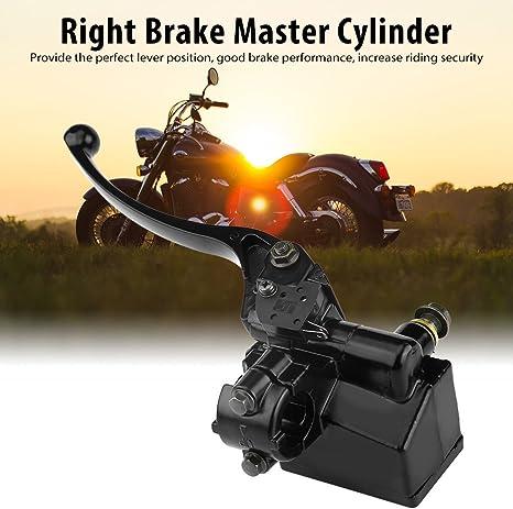 perfeclan Bremspumpe Bremszylinder Bremshebel rechts f/ür Roller Motorrad Quad \
