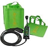 AmazingE Level 2 Portable Electric Vehicle Supply Equipment (EVSE) (NEMA 14-30 Plug, J1772 Connector, 20' Cable Reach)