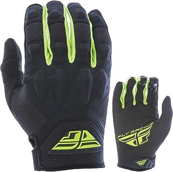 Fly Racing Mens Lite Gloves Hi-Vis//Black Size 5