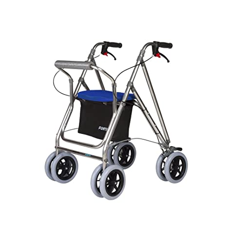 Andador para ancianos | Rollator de aluminio | Andador on frenos y ...