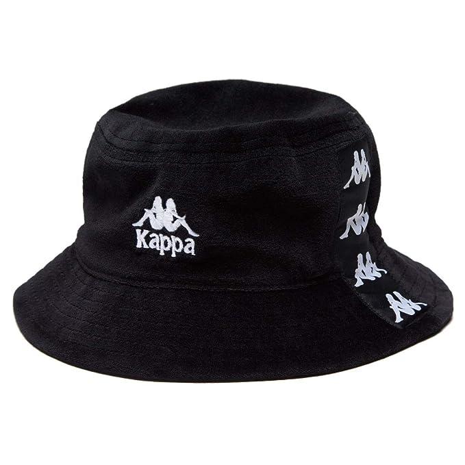 Kappa - Cappello Panama - Uomo Nero nero bianco Taglia unica  Amazon.it   Abbigliamento df59b088b984