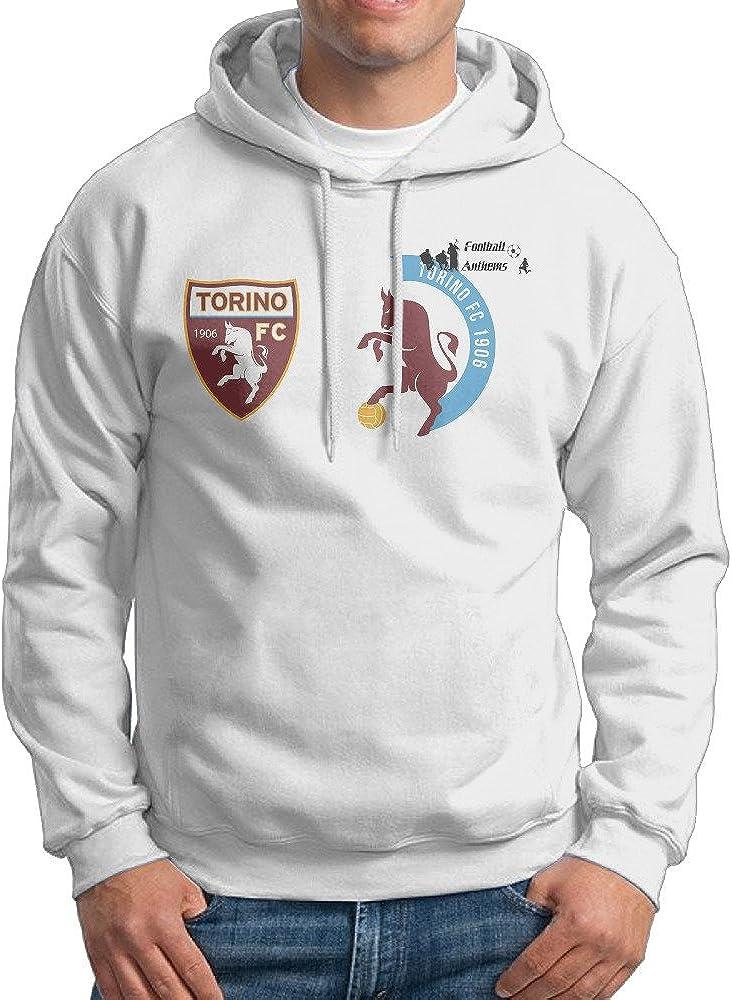Logo Custom Retro 100/% Cotton Hoodies Mens Torino F.C