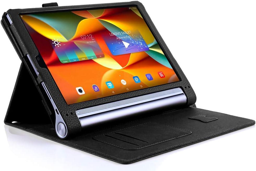 ISIN Premium PU Funda Cover Carcasa para Lenovo Yoga Tab 3 Plus y ...