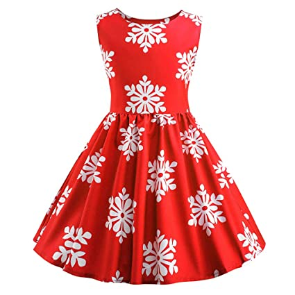 795bf3e3d Toddler Kids Girl Swing Dresses - Elegant Print Sleeveless Side Zipper Tutu Dress  Clothes - Cute