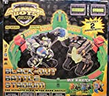 Vintage Black-Out Battle Stadium with 2-Armor Robots Motorized Remote Controled Fighting Machines