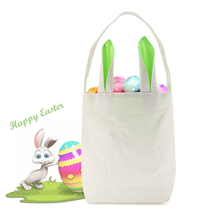 Amazon cambodia shopping on amazon ship to cambodia ship overseas big sale easter bags with bunny ears design for easter egg huntting party carry negle Image collections