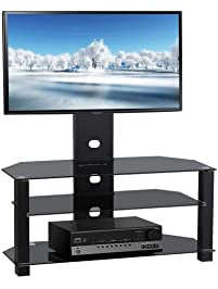 topeakmart tv stand with bracket mount