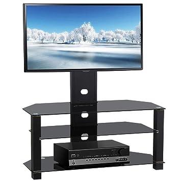 Amazon Yaheetech 3 Tiers Adjustable TV Stand TV Entertainment