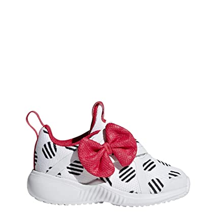 cdc4446d9e4 adidas Fortarun X Minnie CF Shoe Toddlers Running 4K Crystal White-Core  Black-Pink