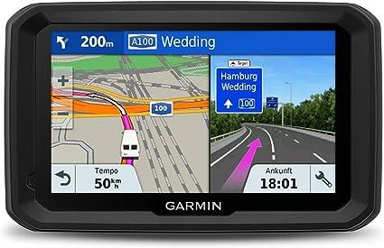 Garmin 580 MT-S, Navegador GPS para camión (Mapa Europa de por Vida), Negro, Gris, 5 Pulgadas: Amazon.es: Coche y moto