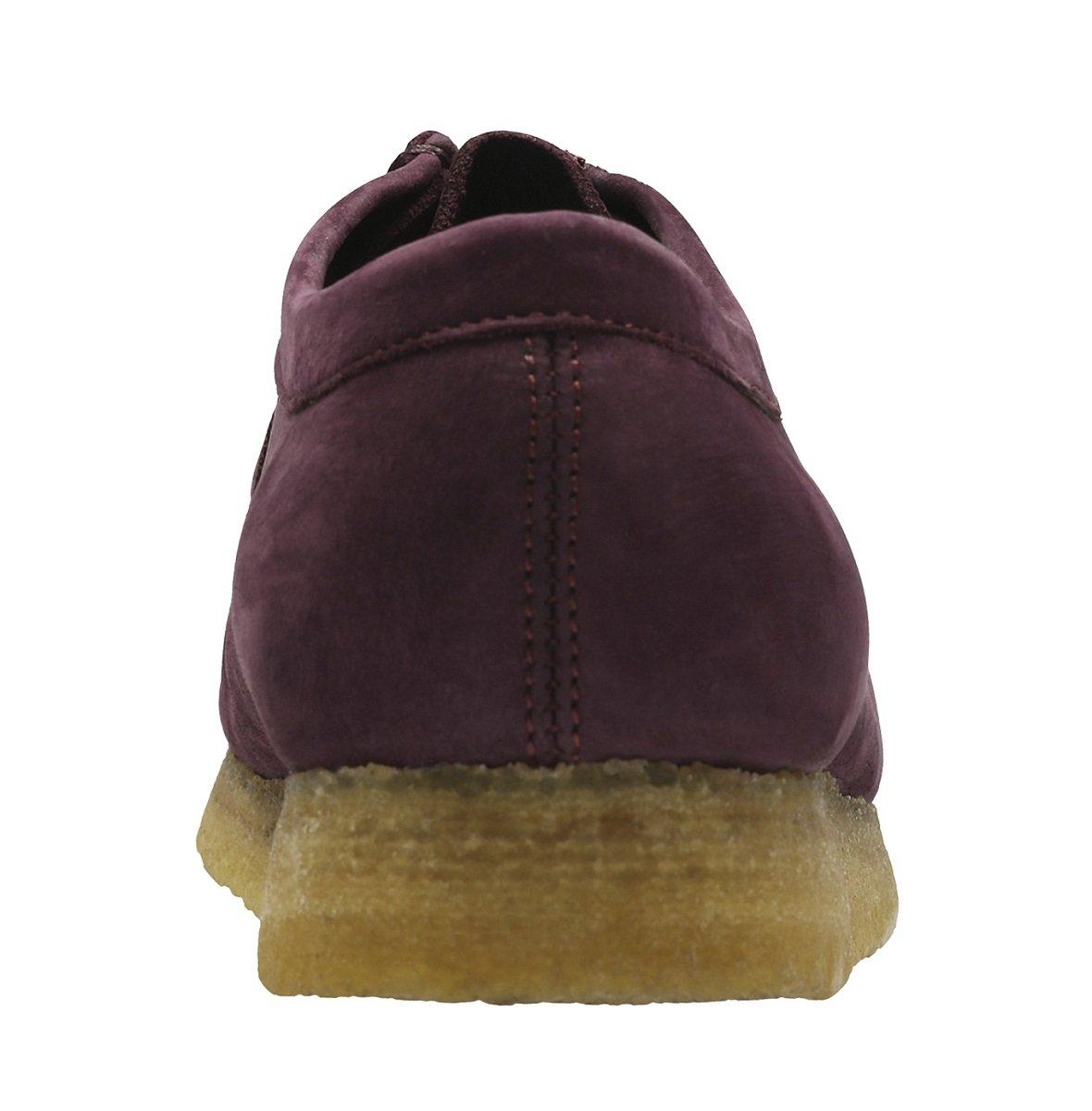 CLARKS Men's Wallabee Shoe B072JLS1JT 11.5 D(M) US|Purple Grape Nubuck