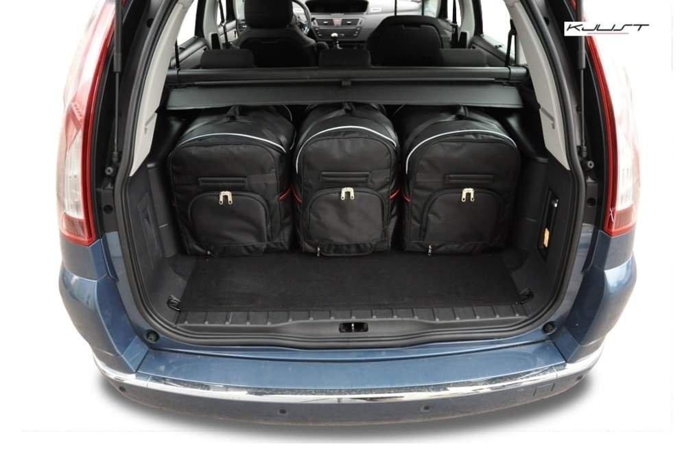 Amazon.es: KJUST Juegos DE Bolsillo para Coche Citroen C4 Grand Picasso, I, 2004-2010- Car Trunk Bags