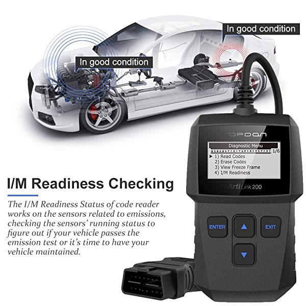 TT Topdon AL200 can read freeze frame data recorded from their car's ECU