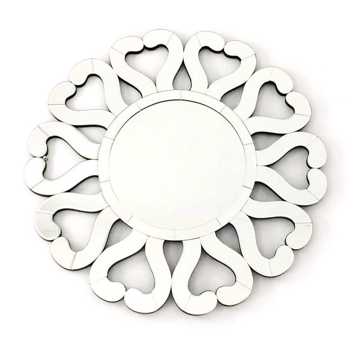 Fab Glass and Mirror FAB-WSTC013 DI Amore-Stylish Design L X W 31.5 Decorative Sunburst, Bathroom Wall Mirrors, 31-1/2'' by Fab Glass and Mirror