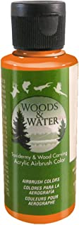product image for Badger Air-Brush Co. 4-Ounce Woods and Water Airbrush Ready Water Based Acrylic Paint, Scarlet