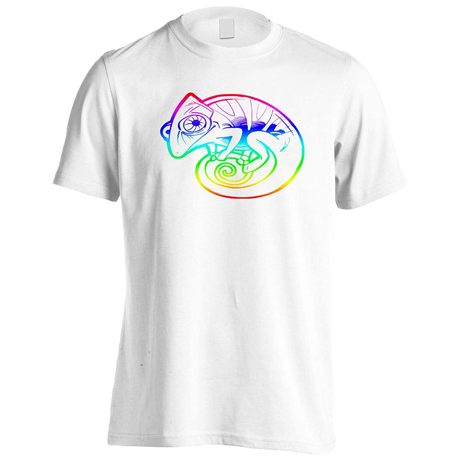 Gecko in Colours Mens T-Shirt Tee gg902m