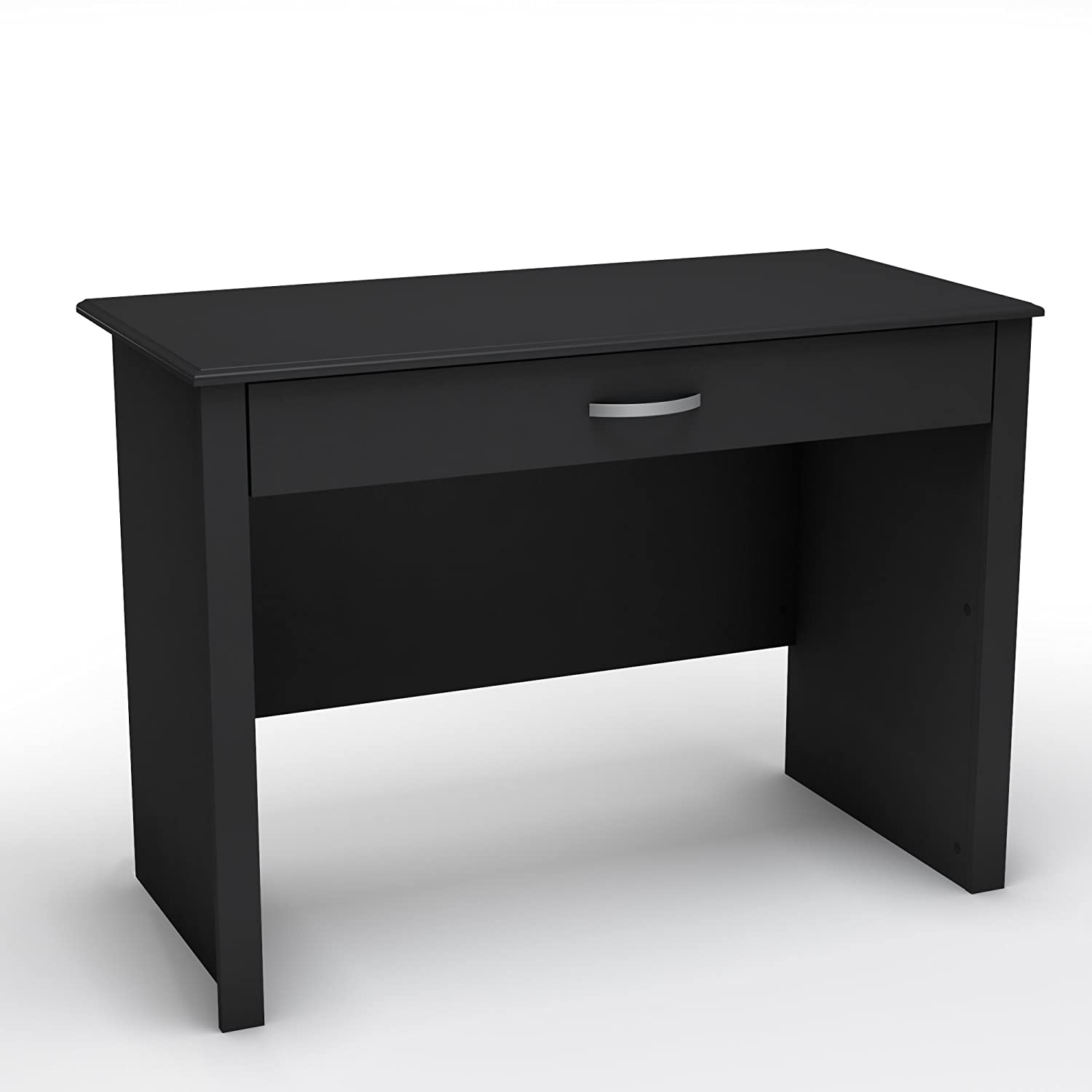 Amazon South Shore Work ID Collection Laptop Desk Pure Black Kitchen Dining