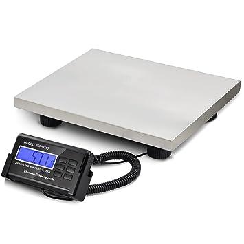 SWT - Digital 150 kg/330lb resistente plataforma báscula postal de almacén: Amazon.es: Oficina y papelería