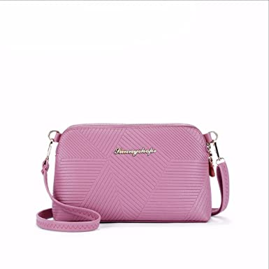 04cb1e4f37d Amazon.com: Spring Small Messenger Bag PU Women Bag Fashion Designer ...