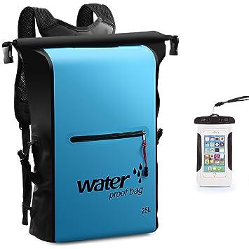429084cbcc Toogou 25L Waterproof Dry Bag Backpack Rucksack Storage Pack Sack Swimming  Rafting Kayaking Camping Floating Sailing Canoe Boating  Amazon.co.uk   Sports   ...