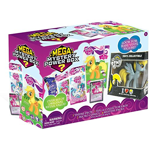 (Super CUTE And EXCITING Friendship Is MAGIC My Little Pony Mega Mystery Box - The Perfect Addition To Any Little Girl's Precious Collection)
