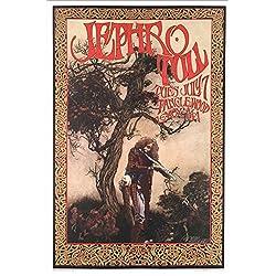 Jethro Tull Poster at Tanglewood MA 1970 2017 Tribute Print Signed Bob Masse