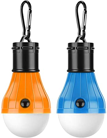 3 x Piece Lamp Tent Light Lantern LED Portable with Hook Outdoor Camping Hiking
