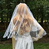 Two Tier Wedding Veil For Bride