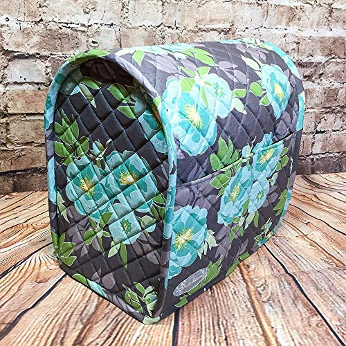 (100% Cotton, Bespoke, Custom Heirloom Quality, Quilted Mixer Cover, Handcrafted gift to fit a 4.5 Qt. or 5 Qt. KitchenAid Tilt-Head Stand Mixer, Cozy, Made in Vermont )