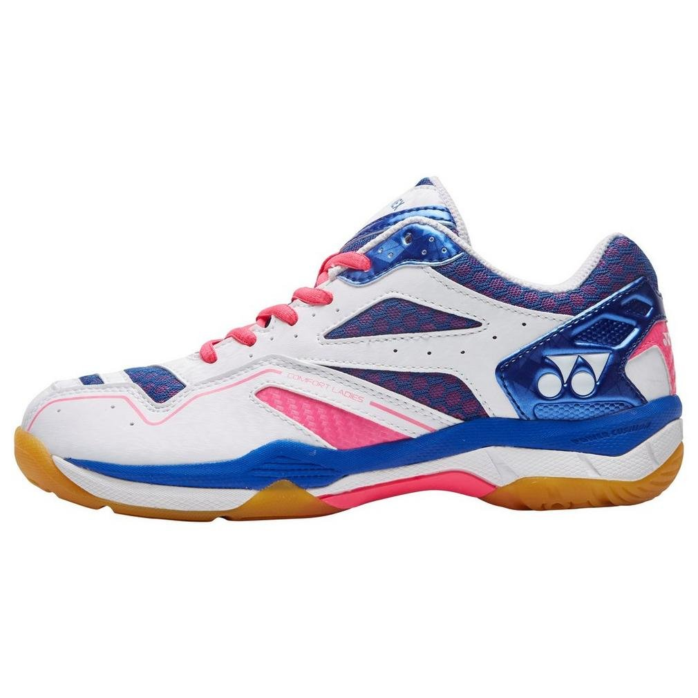 Yonex Power Cush Confort Deportes Badminton Calzado Rosa, Rosa, 37.5
