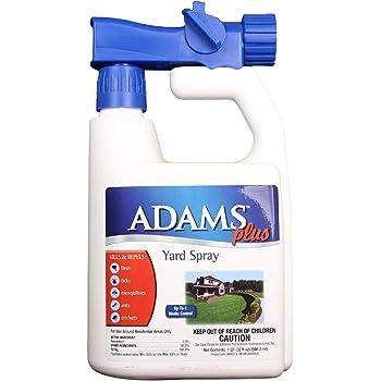 Amazon.com : Adams Plus Flea & Tick Yard Spray, 32 oz ...