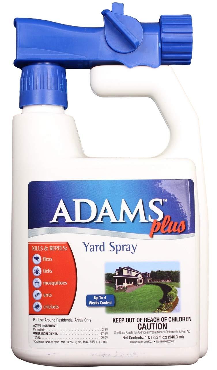 Adams Yard & Garden Spray - Kills & Repels Fleas & Ticks - 32 oz.