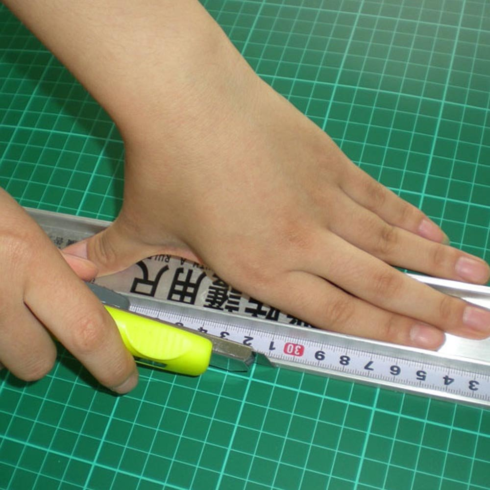 50Cm Professional Protection Ruler Aluminum Alloy Fuler Measurement Protective Ruler 50cm