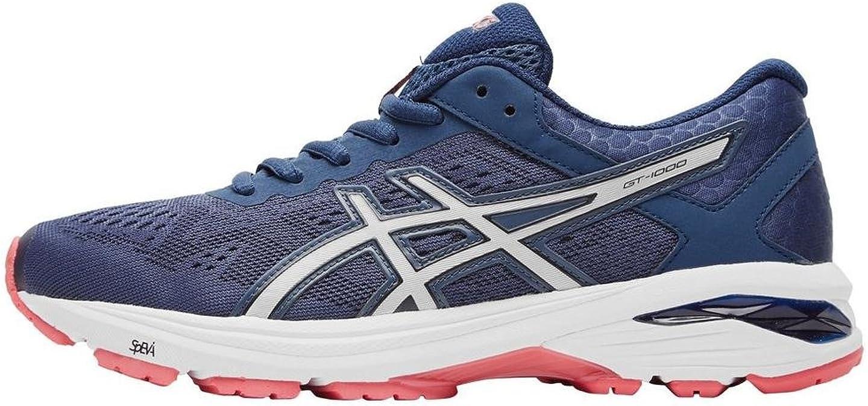 Asics T7A9N5093, Zapatillas de Running para Mujer, Azul (Insignia Blue/Silver/Rouge Red), 37 EU: Amazon.es: Zapatos y complementos